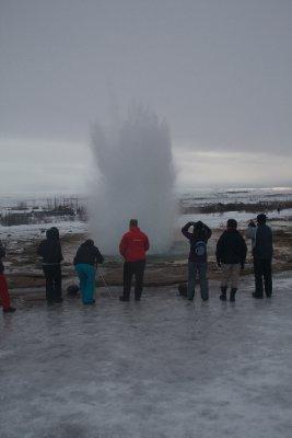 Strokkur geyser 2