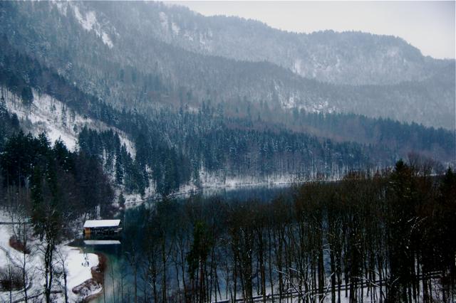 Fussen in Winter