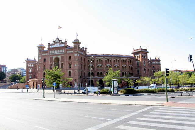PLaza del Toros from a Distance