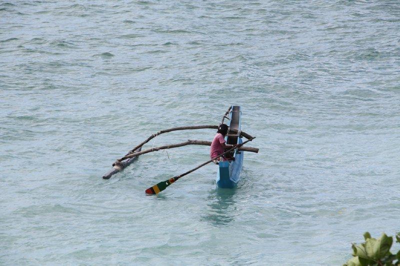 Catamaran Fisherman Unawatuna