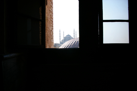 Blue Mosque from Hagia Sophia
