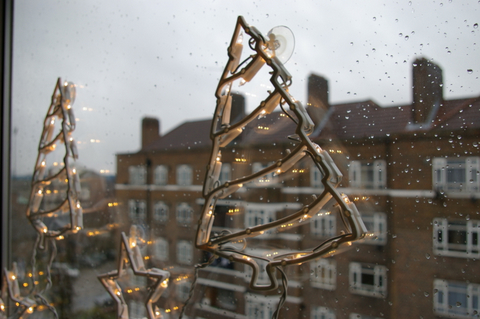 A grey old Christmas in London