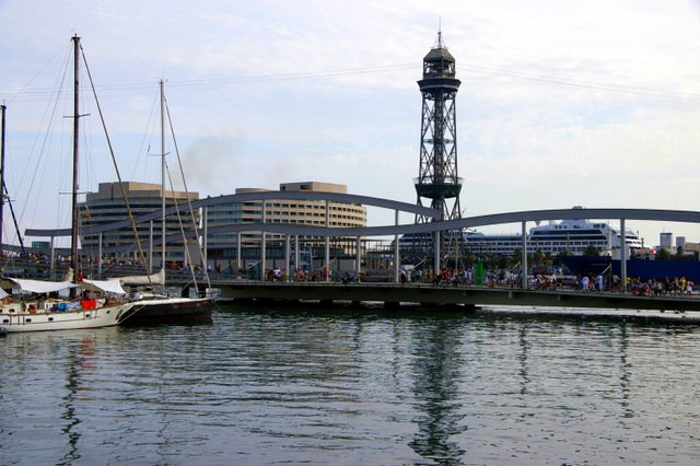 Marina in Barcelona