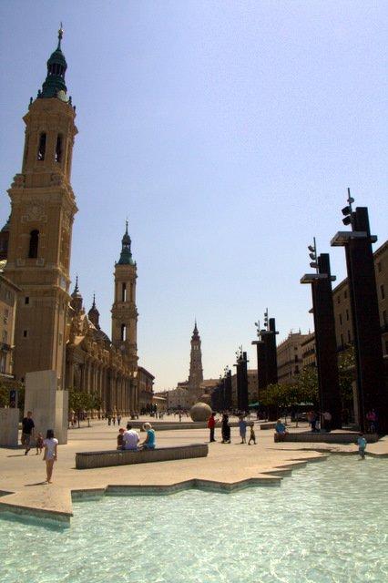 PLaza in Zaragoza
