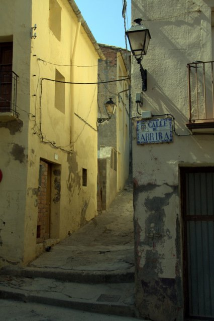 Streets and Alleys in Monzon