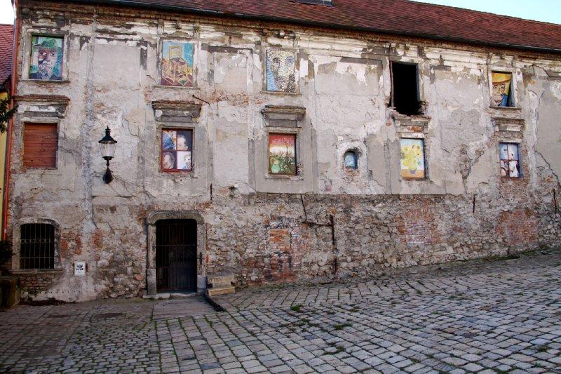 Old building in Bratislava