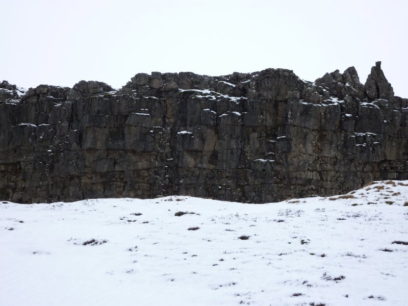 Tectonic plate edge