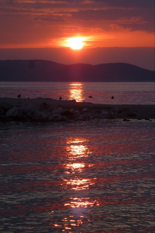 Makarska sunset