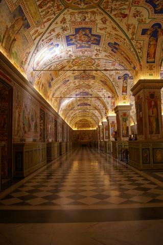 The Vatican museum