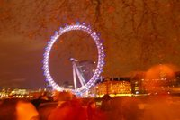 London Eye on New Years Eve