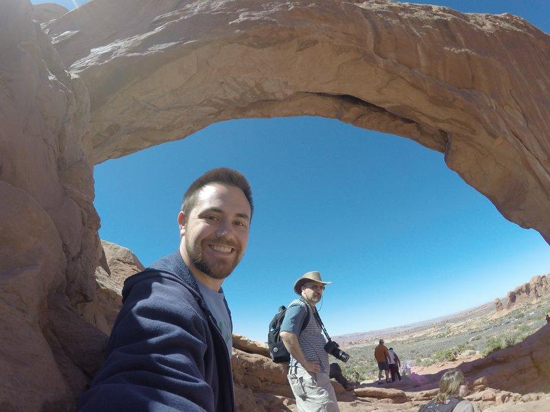 Arches GoPro Selfie