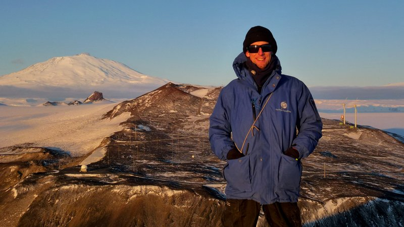 Hard at Work in Antarctica