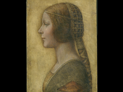 """The beautiful princess"" by Leonardo Da Vinci."