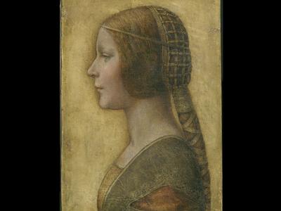 """The beautiful princess"" by Leonardo Da Vinci."