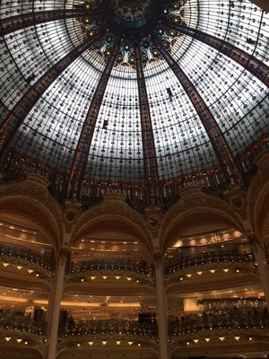 Dome in Galleries La Fayette