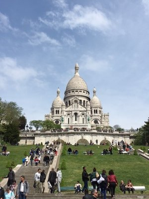 Down the hill from Sacre Coeur