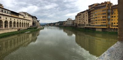 River Arno (photo by Channe Harman)