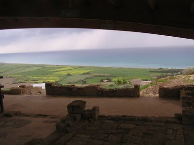 View from the House of Achilles