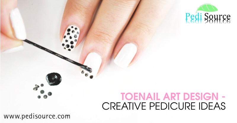 Toenail Art Design - Creative Pedicure Ideas
