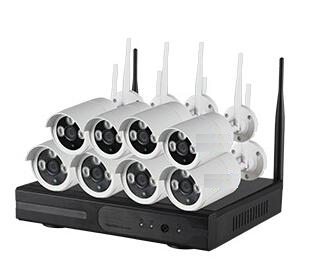 8CH 720P Plug and Play WIFI NVR Kit