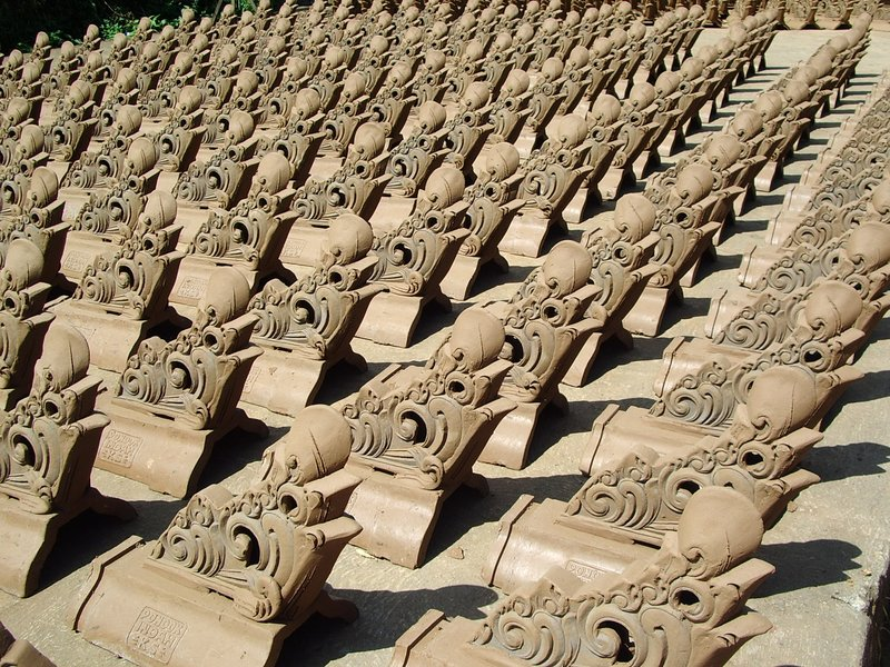 Decorative Roof Tiles