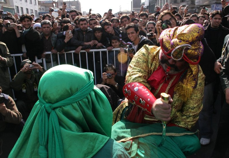 ashoura day in tehran 2