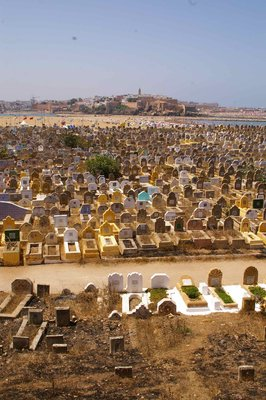 Cemetery at Casablanca