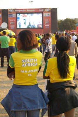 Bafana Bafana fans