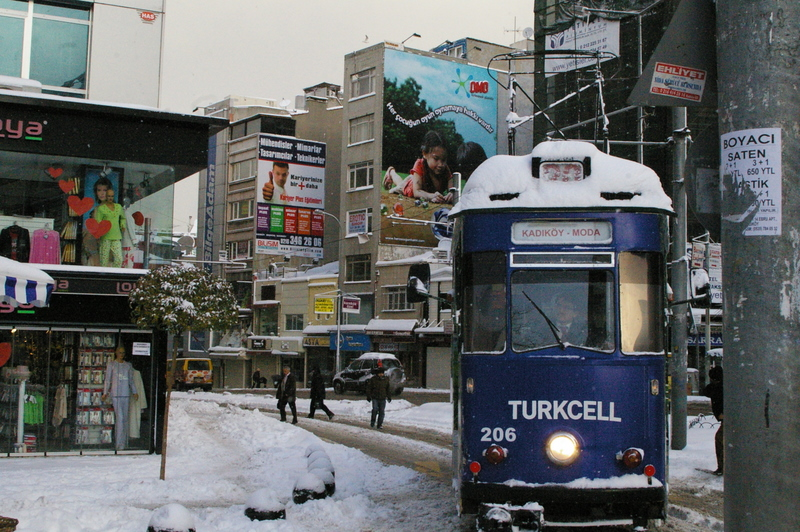 The Kadikoy Tram