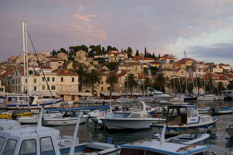 Hvar harbour