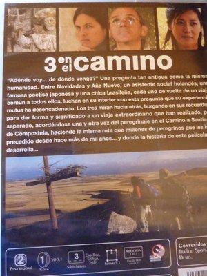 Movie that Rob acted in about El Camino Del Santiago.