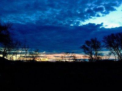 Sunset at Kirijini NP