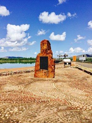 Monument for Ord River Scheme at Kununurra