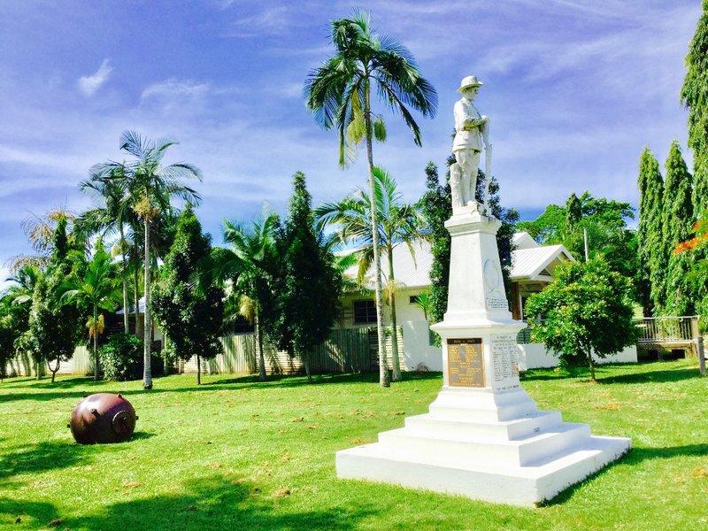 The Anzac War Memorial in Port Douglas..