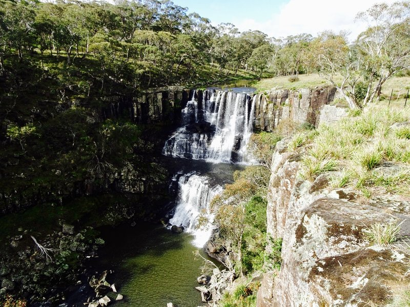 The upper portion of Ebor Falls.