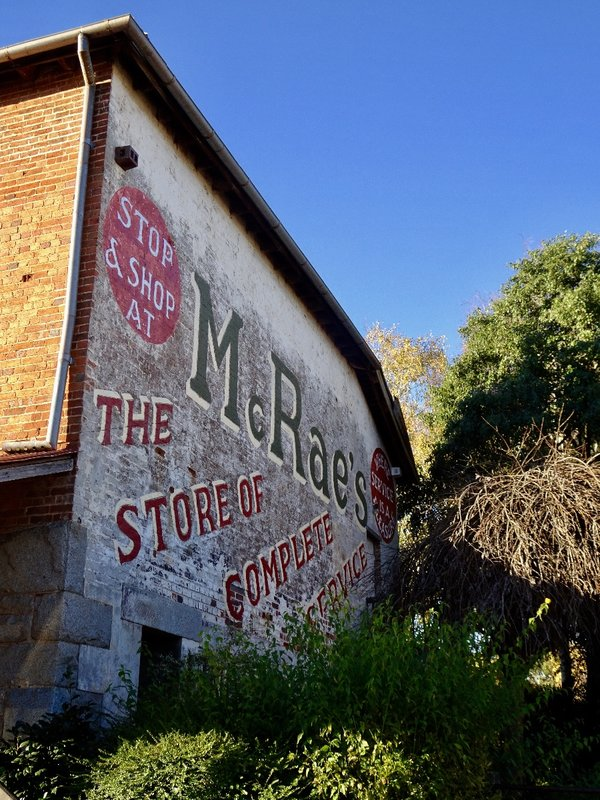 McCrossin's Mill was restored in Uralla; it was once a flour mill but now houses a museum.