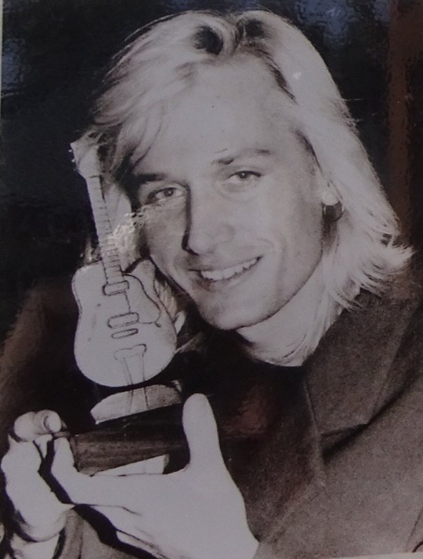 Yes, AU's most famous country music star got his start here. He is pictured holding a Golden Guitar trophy. Look at that blonde hair!