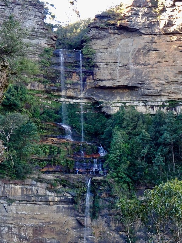 The Katoomba Waterfall in the Blue Mountains