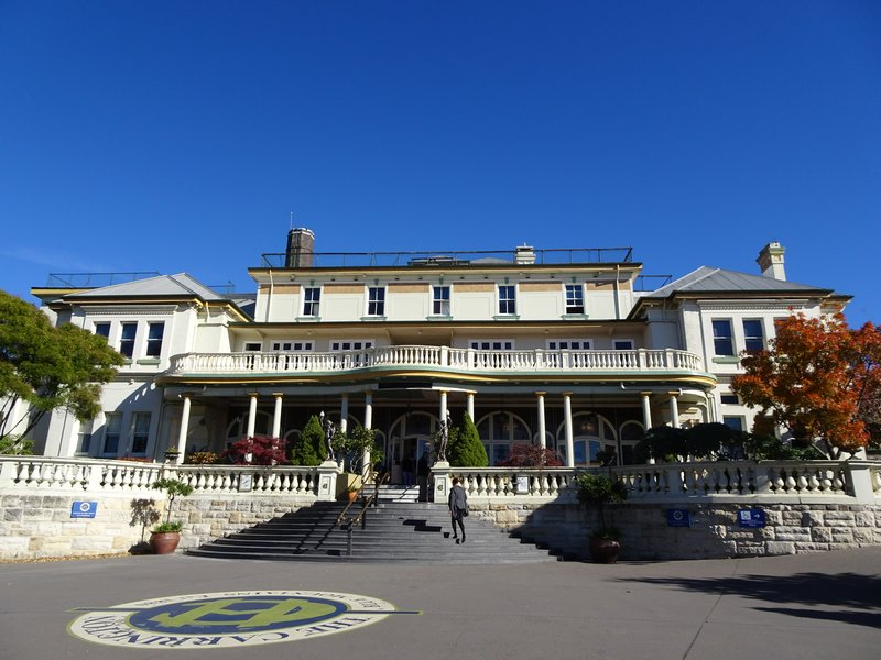 The Carrington was built in 1880; it's presence was significant in that it attracted the wealthy from Sydney to visit the Blue Mountains.