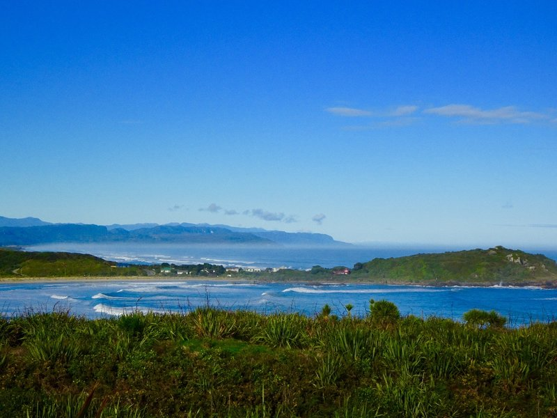 This view looks over Tauranga Bay toward the small village of the same name.
