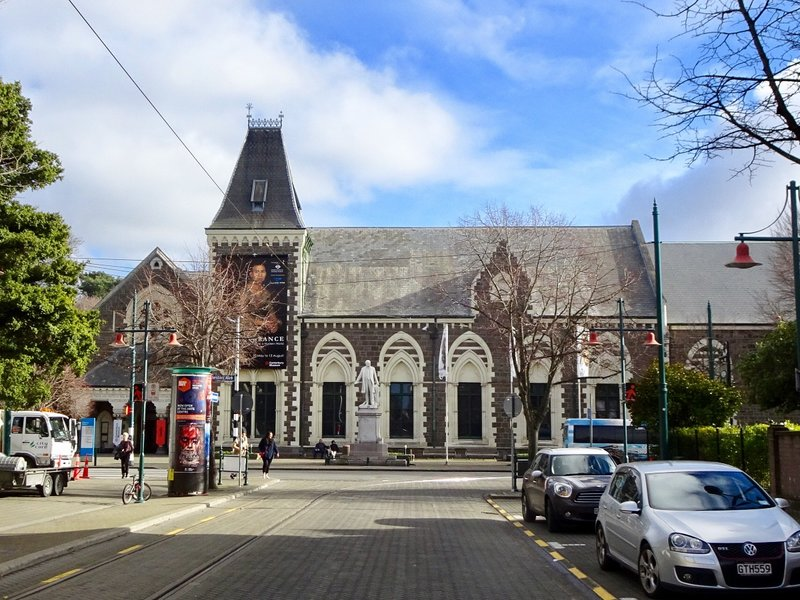 The Canterbury Museum opened in 1870. After the earthquake, It remained structurally sound, and there was very little damage to the collections inside.