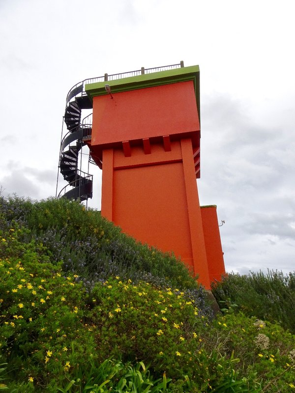 When the town of Whangnui started spreading up the hillside, they built the Durie Hill Elevator. Opened in 1919, it is the only public underground elevator of its kind in NZ.