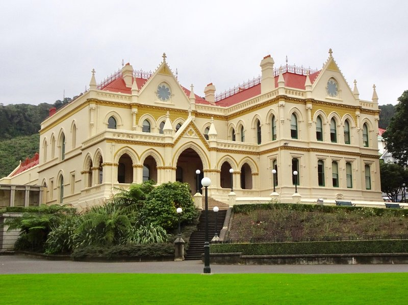 In this case, the oldest, is the prettiest. This is the Parliamentary Library; it was built in 1889.