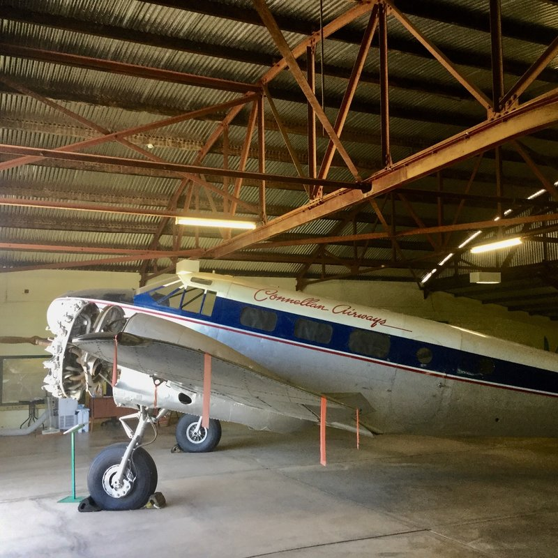 This airline started as a mail run between Alice Springs and Wyndham in WA in 1939. During WWII, the founder Edward Connellan consolidated his air services, and registered the company as Connellan Airlines.