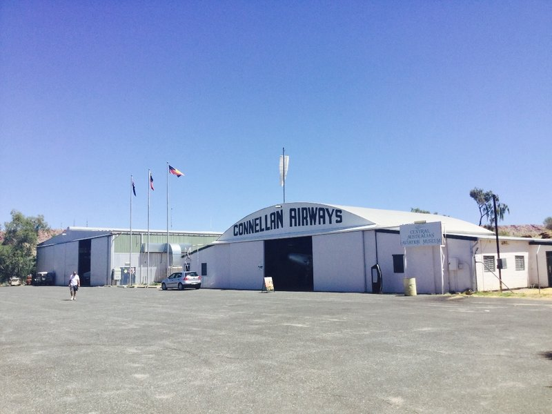 The Central Australian Aviation Museum is housed in the Connellan Airways Hangar which was Alice's original aerodrome.