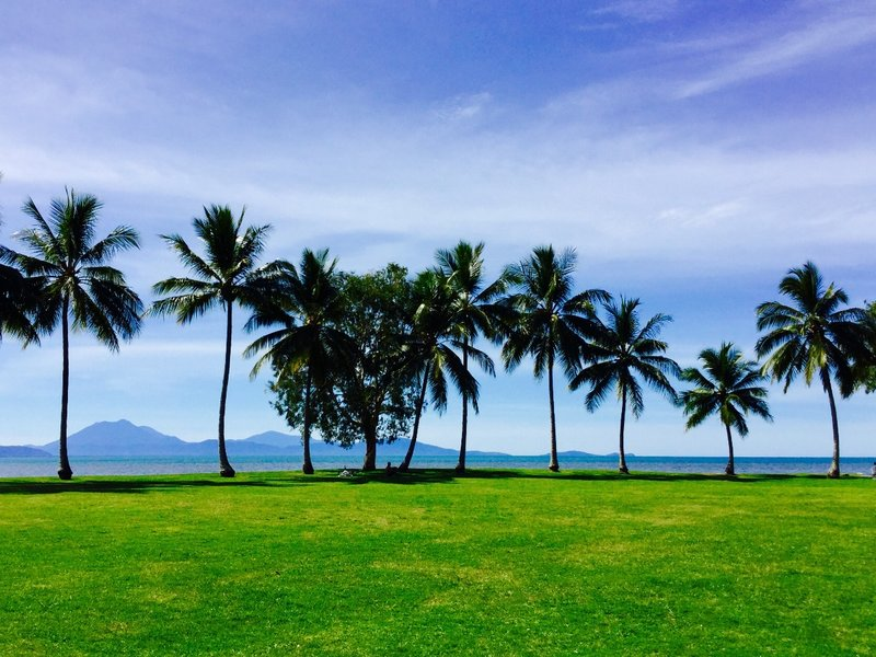 Rex Smeal Park is located at the point of the Port Douglas peninsula.
