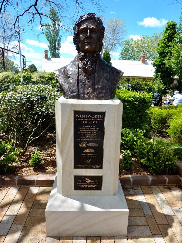 Wentworth Falls was named after William Charles Wentworth. He was one of the men who led an expedition which successfully found a route through the Blue Mountains.