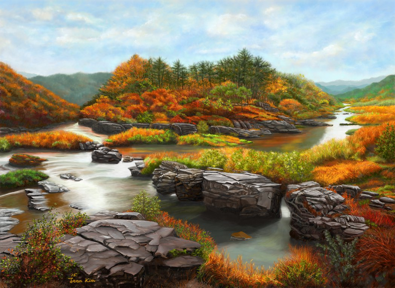 Elvin Siew Chun Wai - River Nature Landscape Photography