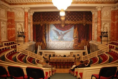 St.Petersburg (Hermitage) - Ballet at the Hermitage theatre