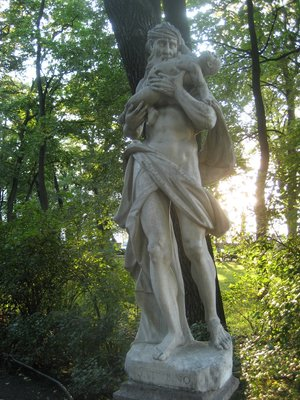 St.Petersburg - Statue in the Park